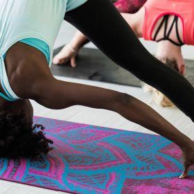 Gaiam 6mm Yoga Mat Be Free