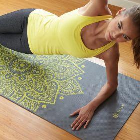 Gaiam 6mm Yoga Mat Citron Sun