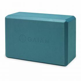 Gaiam Yoga Block - Blue Teal