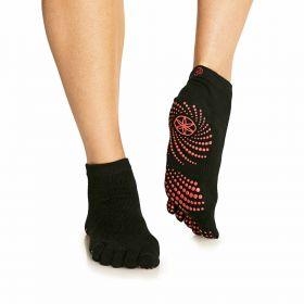 Gaiam Yoga Socks S/m Pink