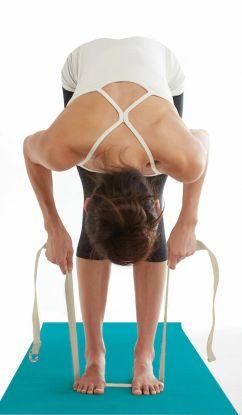 Gaiam Yoga Strap Natural 182 Cm