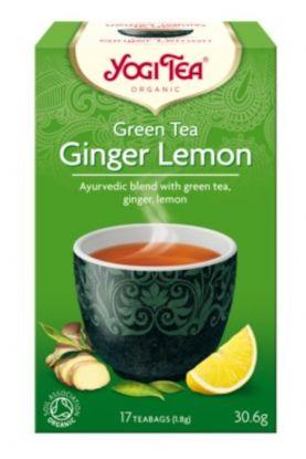 Yogi Te grønn te ingefær sitron