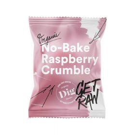 Get Raw No-Bake Raspberry Crumble