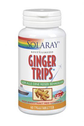 Solaray Ginger Trips