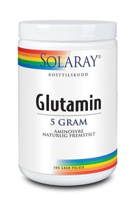 Solaray Glutamin pulver