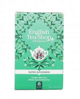 English Tea Shop Green Sencha, White Tea & Matcha