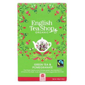 English Tea Shop Green Tea & Pomegranate