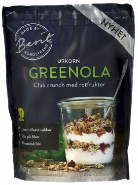 Berit Nordstrand Granola Chia & Rotfrukter 350 gr