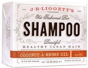 JR Ligget's old fashioned shampoo bar coconut & argan 99 g