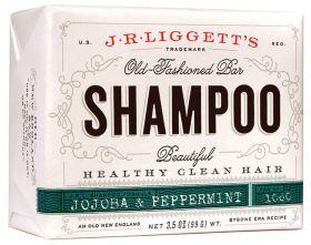 JR Ligget's old fashioned shampoo bar Jojoba & Peppermint 99 g