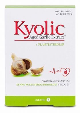 Kyolic Age + Plantesteroler 60 tabletter