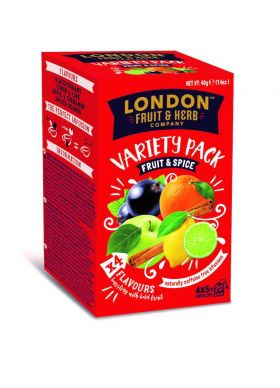 London Fruit & Herb Tea Fruit & Spice assortert