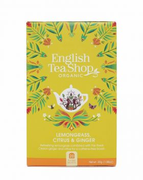 English Tea Shop Lemongrass, Citrus & Ginger