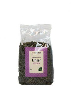 Manna Linser grønne dupuy 500 gr