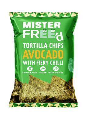 Mister Free'd tortilla chips Avokado 135 gr