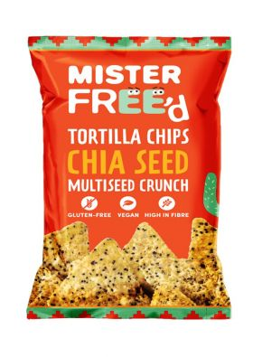Mister Free'd tortilla chips chia seeds