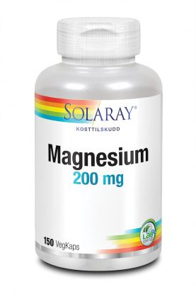 Solaray Magnesium 200 mg 150 kap