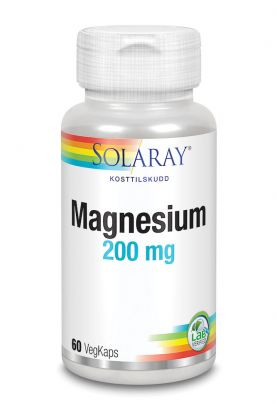 Solaray Magnesium 200 mg 60 kap