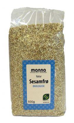Manna Sesamfrø natur 500 gr