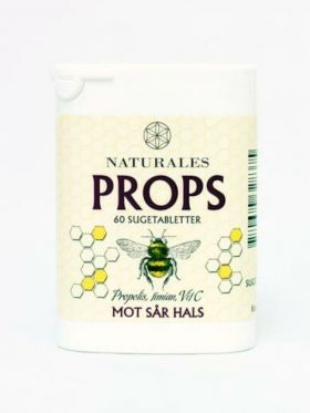Naturales props Sugetabletter