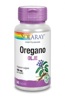 Solaray Oregano Olje