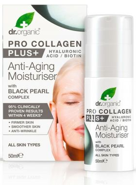 Dr. Organic Pro collagen black pearl 50 ml