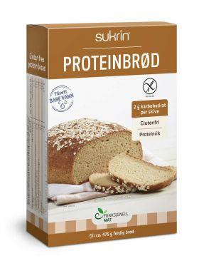 Sunnere Proteinbrød 220 gr
