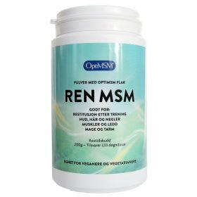 Ren MSM pulver 200 gr