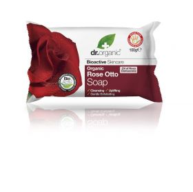 Dr.Organic Rose Soap 100 ml