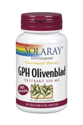 Solaray GPH Olivenblad