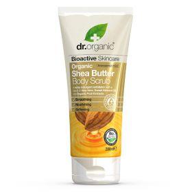 Dr. Organic Shea Butter Body Scrub 200 ml