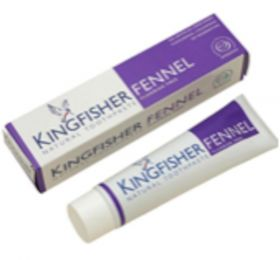 Kingfisher Tannkrem fennikel u/fluor