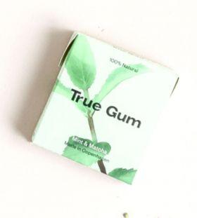 TRUE GUM Mint & Matcha