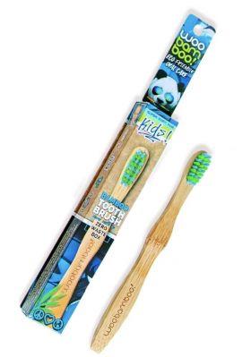 WooBamboo Bambus Tannbørste Kids 1 stk