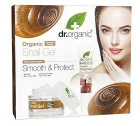 Dr.Organic Snail Gel Smooth & Protect Gift Set