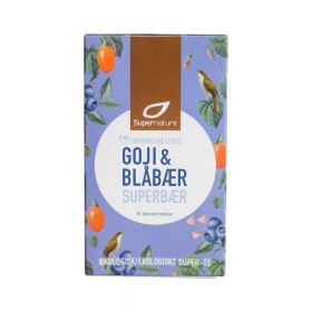 Supernature Tea Bluberry Goji