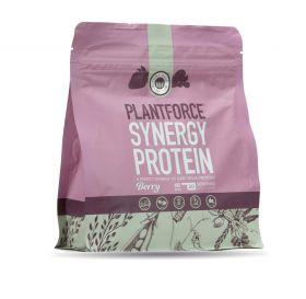 Plantforce Synergy Proteinpulver med bær 400 gr
