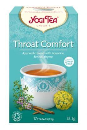 Yogi Te throat comfort