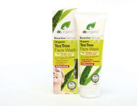 Dr.OrganicTea tree face wash
