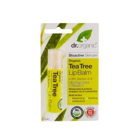 Dr.Organic Tea tree lip balm 5,7 ml