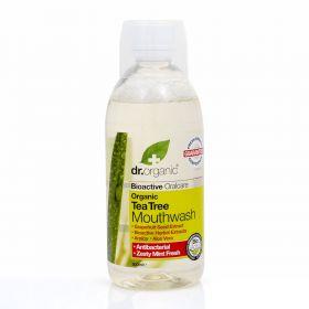 Dr.Organic Tea tree mouthwash