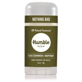 Humble deodorant Cedarwood / Grapefruit