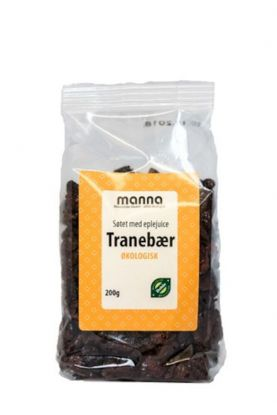 Manna Tranebær med eplejuice 200 gr