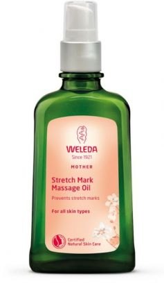 Weleda Stretch Mark Massage Oil Svangerskapsolje