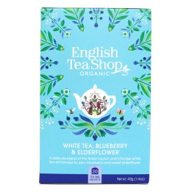 English Tea Shop White Tea, Blueberry & Elder Flower