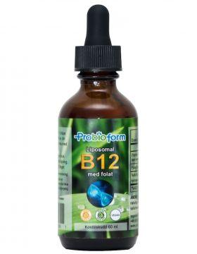 Liposomal B12 med Folat
