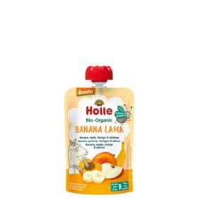 Holle Smoothie banan, eple, mango & aprikos 100 gr