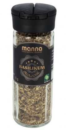 Manna Basilikum, økologisk 18 gr