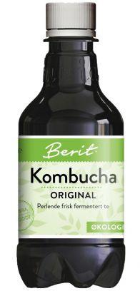 Berit Kombucha Klassisk Fermentert Te 330ml