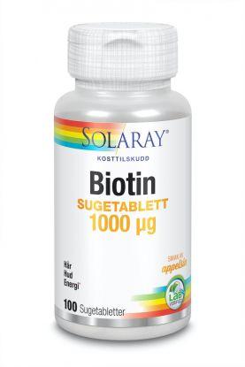 Solaray Biotin